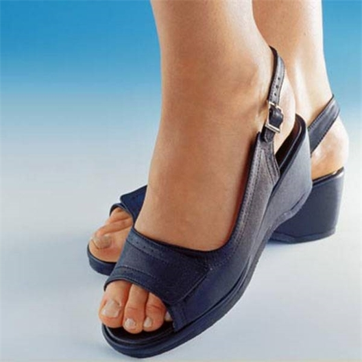Lot de 2 paires de sandales Blanche et Marine