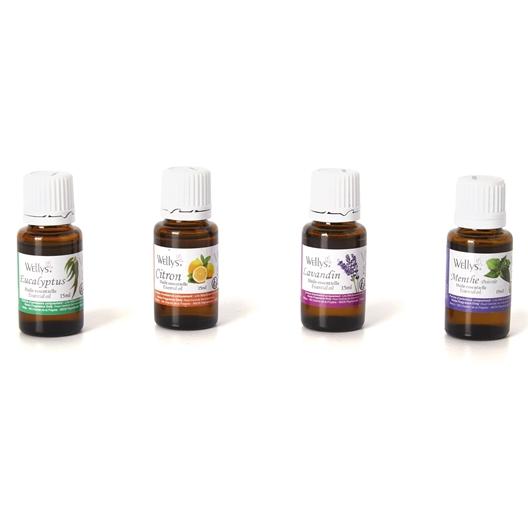 Huile essentielle : différents parfums
