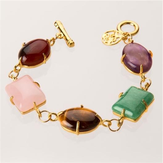 Bracelet + boucles d'oreilles Impératrice