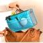 Organiseur sac à main bleu