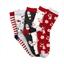 Lot de 5 paires de chaussettes Noël - taille 36/38